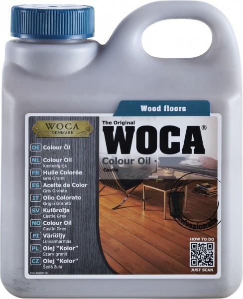 Woca Colouröl 2,5 Liter-Dunkelrotbraun