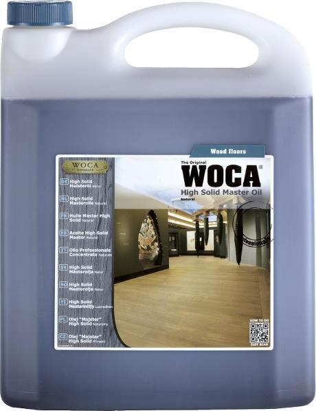Woca High Solid Meisteröl Natur 5 Liter