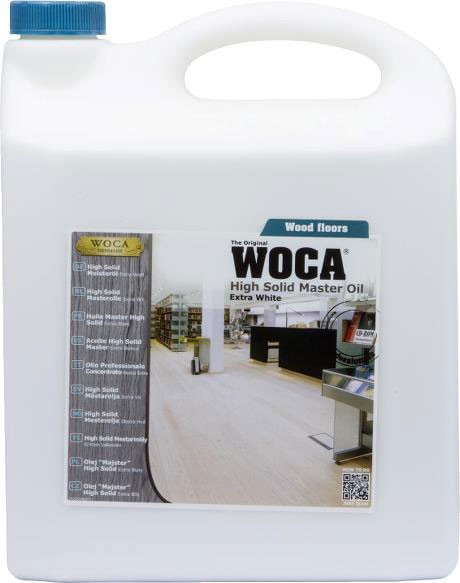 Woca High Solid Meisteröl Weiss 5 Liter