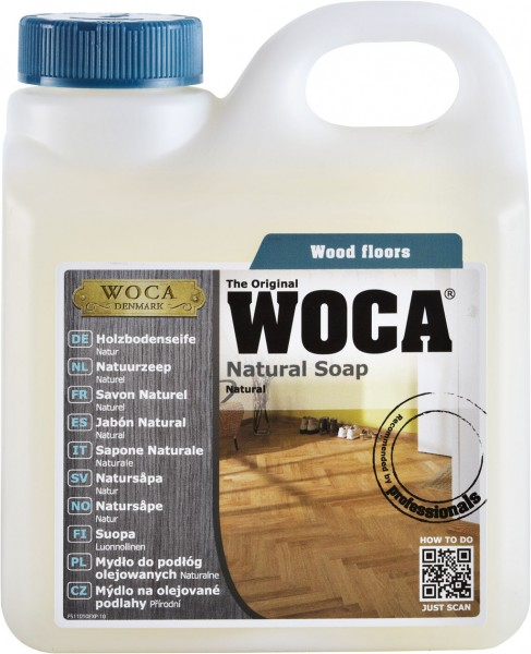 Woca Holzbodenseife Natur 10 Liter Aktion
