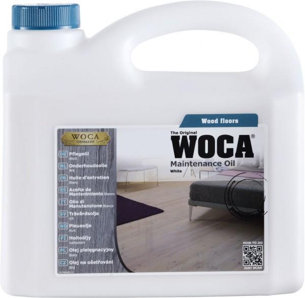 Woca Pflegeöl Weiss 2,5 Liter