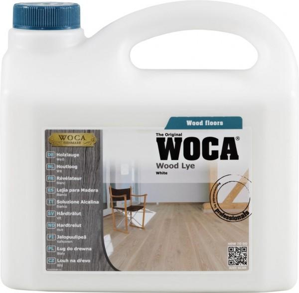 Woca Holzlauge weiß, 2,5 Liter