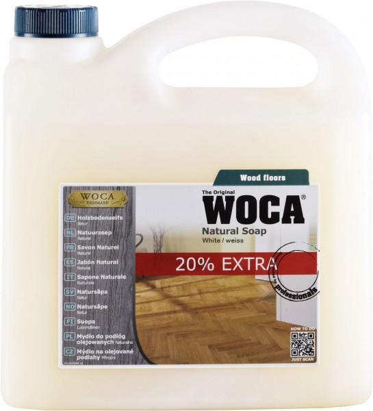 Woca Holzbodenseife Weiss 3 Liter