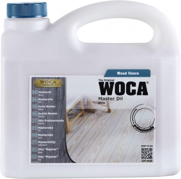 Woca Meister Bodenöl Weiss 2,5 Liter